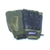 REDNUHT Tactical Gloves - Hard Back Fingerless - Olive